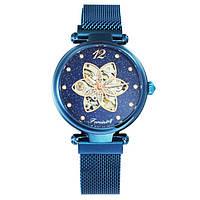 Forsining Blue Diamonds Женские часы наручные механические с автоподзаводом