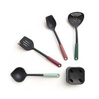 Набір кухонних приладів Brabantia на підставці 5 предметів (4+1) 123184