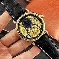Forsining Gold-Black Часы мужские наручные механические с автоподзаводом