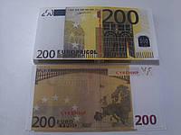Купюра сувенирная 200 евро