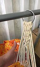Детская подвесная качеля гамак Каприз 127х80х70, фото 3