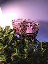 Бокал для вина из розового цветного стекла Каир 250 мл, фото 2