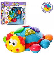 Музыкальная развивающая игрушка Танцующий жук.Детская развивающая игрушка для малышей.
