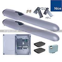 Комплект автоматики WINGO4KLT Nice для распашных ворот (ширина до 4 м)