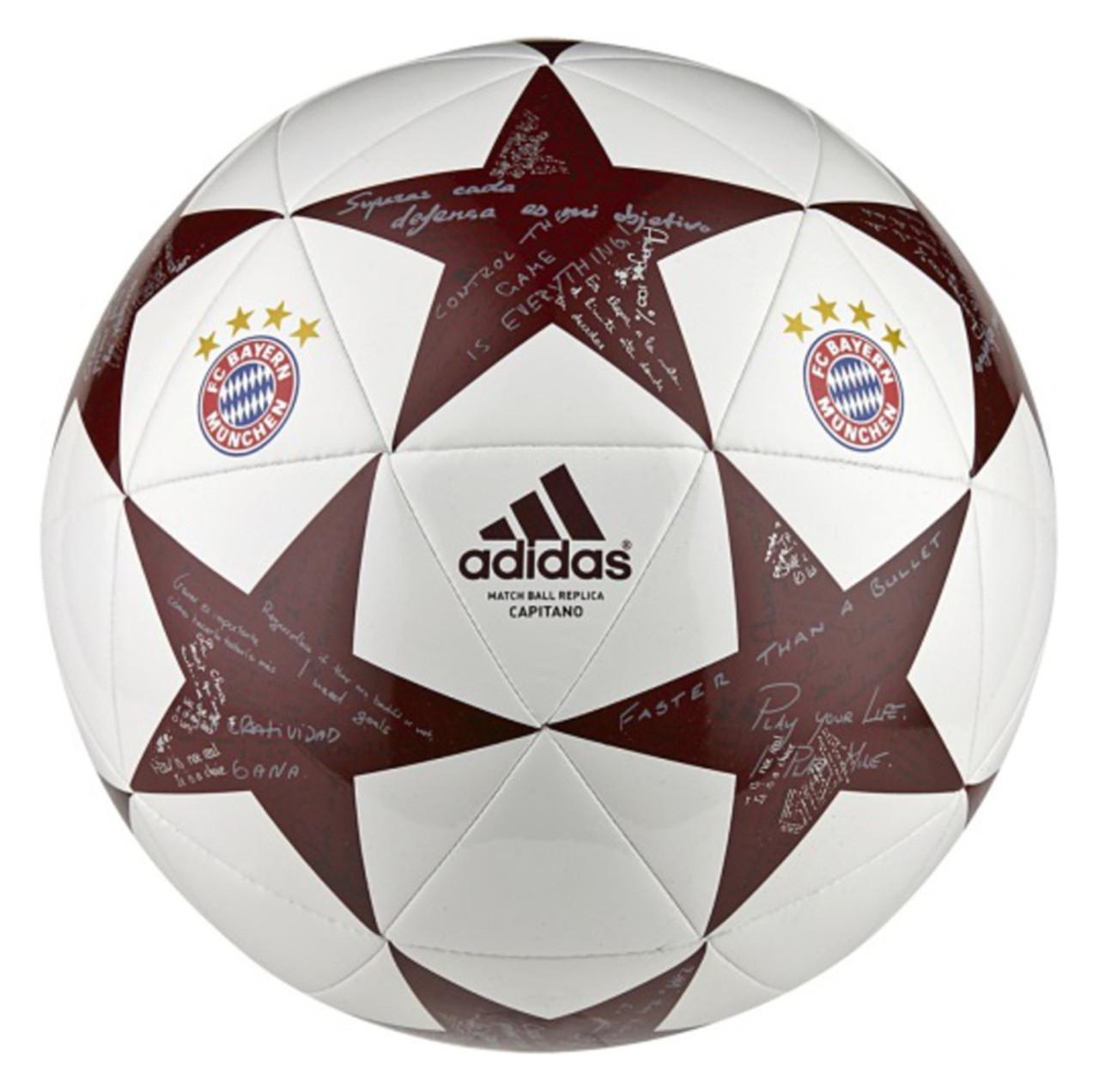 Футбольный мяч Adidas Finale 16 Capitano Fc Bayern AP0398