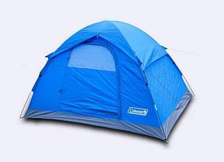 Палатка туристическая двухместная Coleman 1503 с тамбуром 210*140*130 см походная
