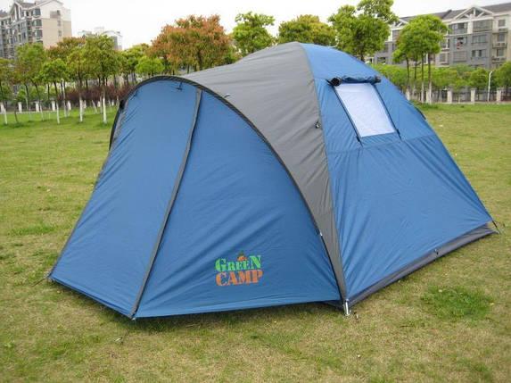 Палатка четырехместная GreenCamp 1004, фото 2