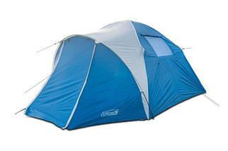 Туристическая палатка 4-х местная Coleman 1004 330х240х180 см с тамбуром