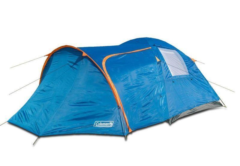 Палатка туристическая четырехместная Coleman 1009 размеры 380х220х150 см 2 окна