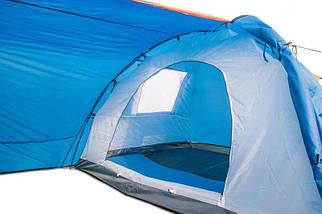 Палатка туристическая четырехместная Coleman 1009 размеры 380х220х150 см 2 окна, фото 2