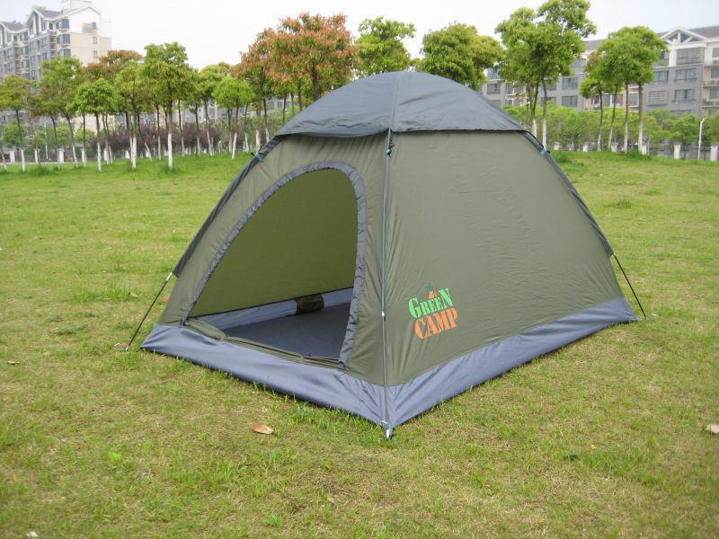 Палатка двухместная Green Camp 1503  2,1х1,5х1,3 м