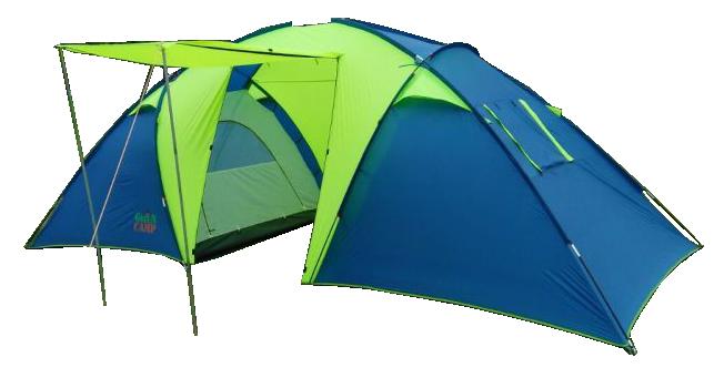 Палатка туристическая шестиместная GreenCamp 1002