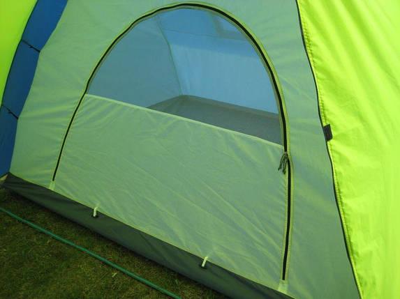 Палатка туристическая шестиместная GreenCamp 1002, фото 2