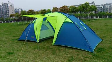 Палатка туристическая шестиместная GreenCamp 1002, фото 3