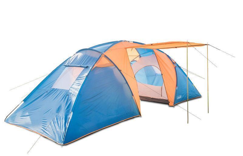 Палатка 6-ти местная Coleman 1002 размер 450*260*180 с тамбуром