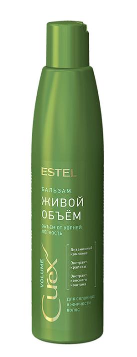 """Бальзам для придания объема для сухих волос """"Живой объем"""" Estel 250мл"""