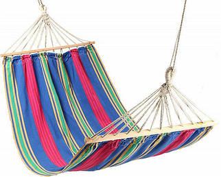 Гамак мексиканский подвесной яркий туристический 270*100 портативный гамак туристический