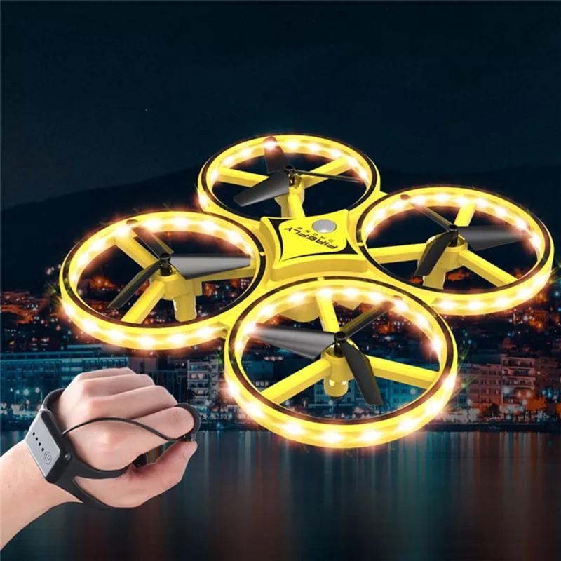 Квадрокоптер Tracker 001 нового поколения с управлением жестами руки дрон
