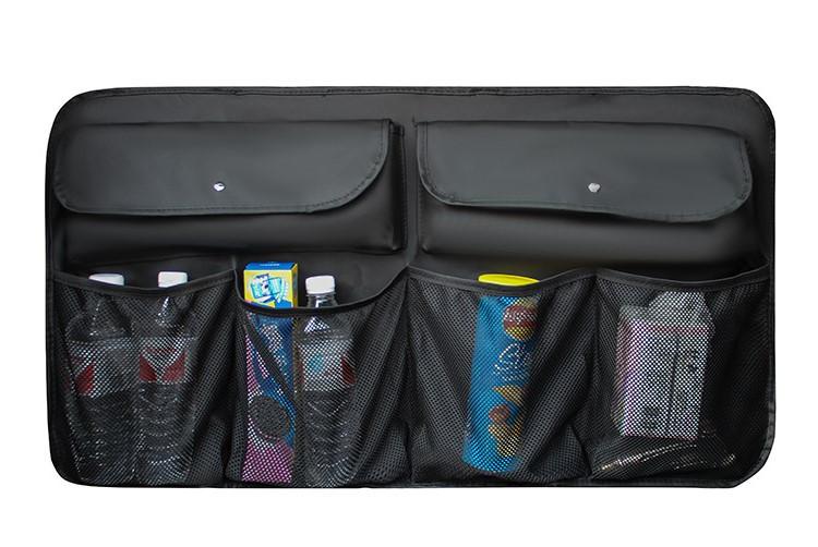 Органайзер на Спинку Заднего Сиденья для Автомобиля в Багажник Черный (BY-720)