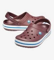 Crocs Crocband Clog оригинал США M8W10 41-42 (26.5см) клоги сабо сандалии шлепки закрытая обувь крокс original