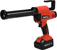 Пистолет для клея и герметика аккумуляторный LI-ION YATO YT-82888 (Польша)