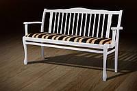 Лавка Версаль біла ТМ Мікс Меблі, фото 1