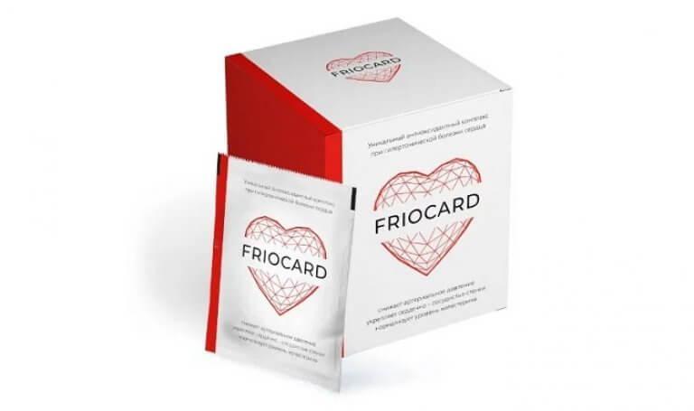 Friocard (Фриокард) — капсулы от гипертонии