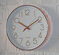 """Часы настенные """"Quarts gold"""" (30 см.), фото 1"""