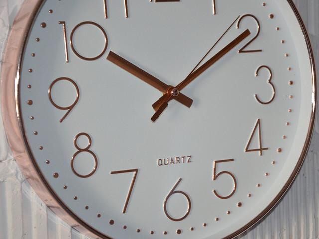 """Часы настенные """"Quarts gold"""" (30 см.)"""