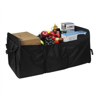 Органайзер в Багажник Машины с Охлаждающим Отсеком Оксфорд Черный (BY-518)