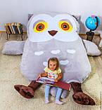 Дитяче ліжко матрац м'яка іграшка Сова (S), фото 2