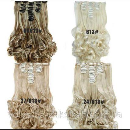 Волосы на заколках волнистые, фото 2