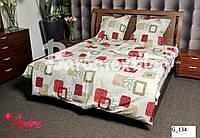 Двуспальный комплект постельного белья БЯЗЬ от производителя