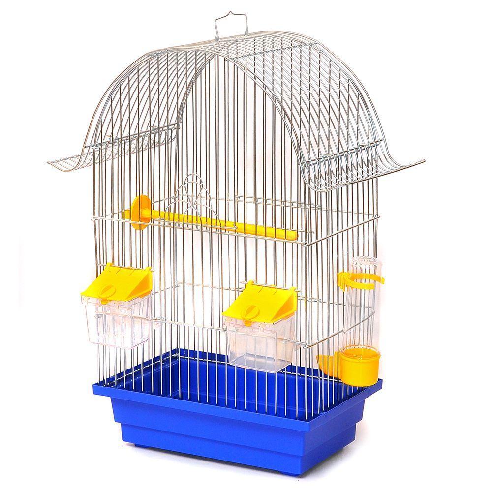 Клетка для птиц Ретро золото