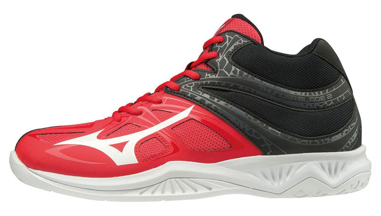Волейбольные кроссовки высокие Mizuno Thunder Blade 2 Mid V1GA1975-62