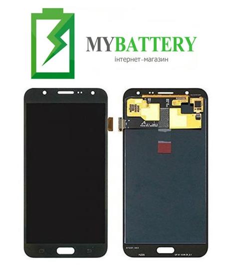 Дисплей (LCD) Samsung GH97-17670C J700H Galaxy J7 с сенсором черный сервисный