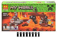 """Конструктор """"My World Minecraft: Иссушитель"""", 324 детали BELA (10469)"""