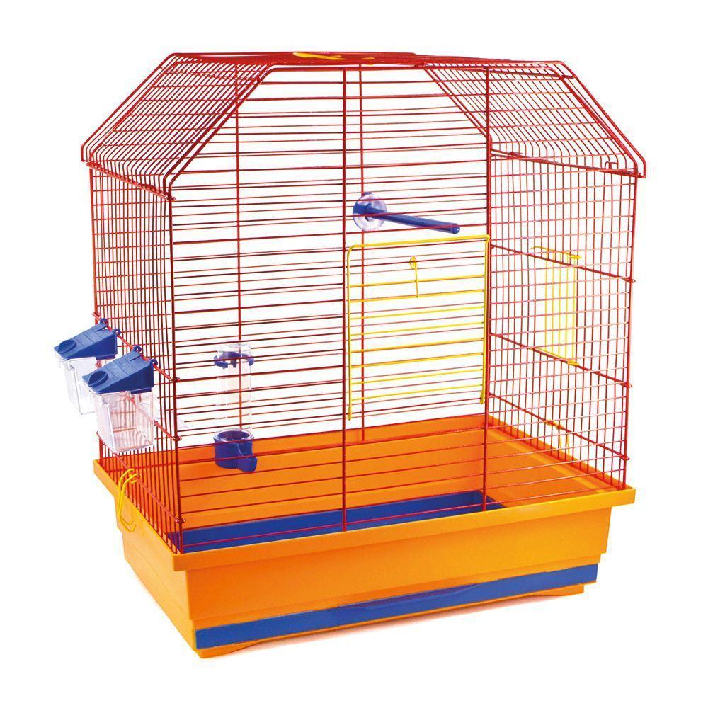Клетка для птиц Виктория цинк