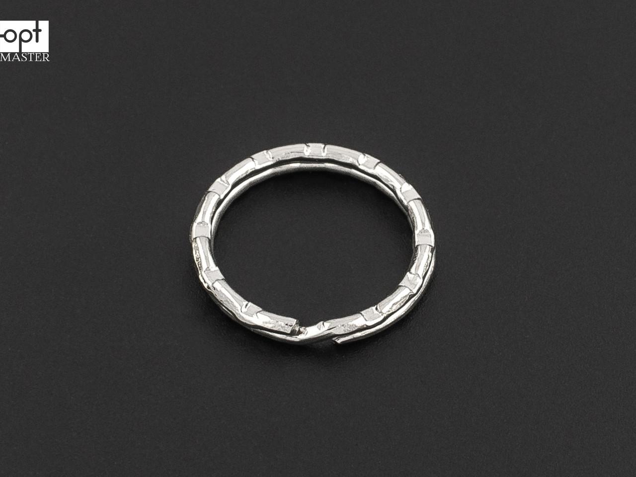 Кольцо для ключей рифлёное, d=20 мм