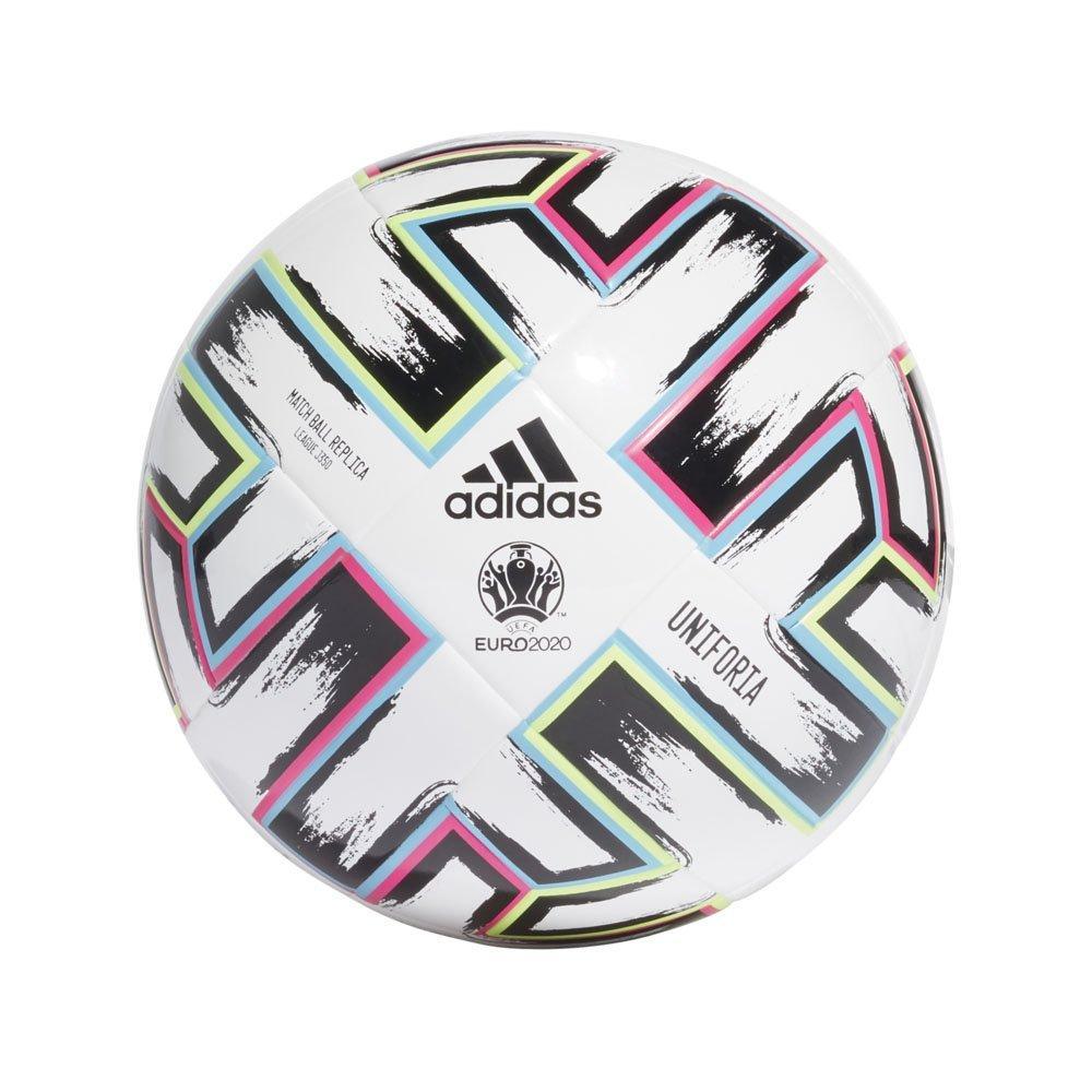 Мяч футбольный Adidas Uniforia League Jr 350g Euro 2020 №5 FH7357 Белый