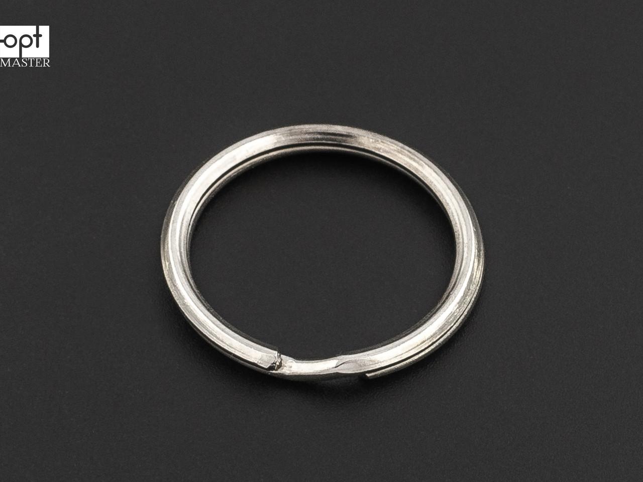 Кольцо для ключей треугольное, d=25 мм