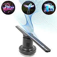 3D голографический Wi-Fi вентилятор SACA 384 светодиода проекция 42 см графика проектор голограмма пуль ДУ