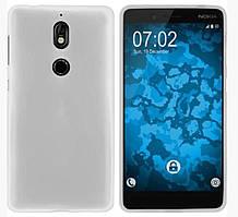Силиконовый чехол для Nokia 7 белый прозрачный