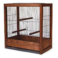 Клетка для птиц Loft Ретро темная