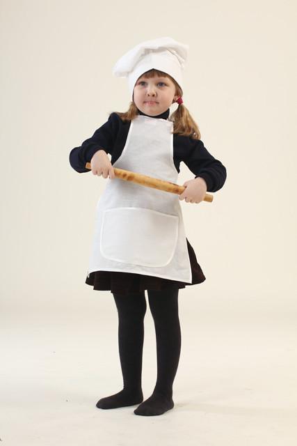 """Костюм """"Маленький кухар"""" (фартух, ковпак)  3-7 р. АКЦІЯ -25% до 03.04.20"""