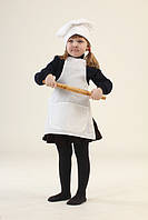Костюм Маленький повар (фартук, колпак) (027)