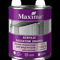 """Емаль акрилова для радіаторів опалення ТМ """"Farbex"""" - 0.75 л"""