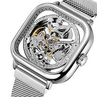 Forsining eagle II женские механические часы скелетон, фото 1
