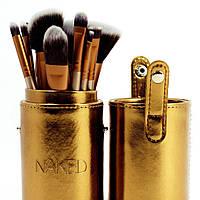Набор кистей для макияжа Naked4 12шт. реплика