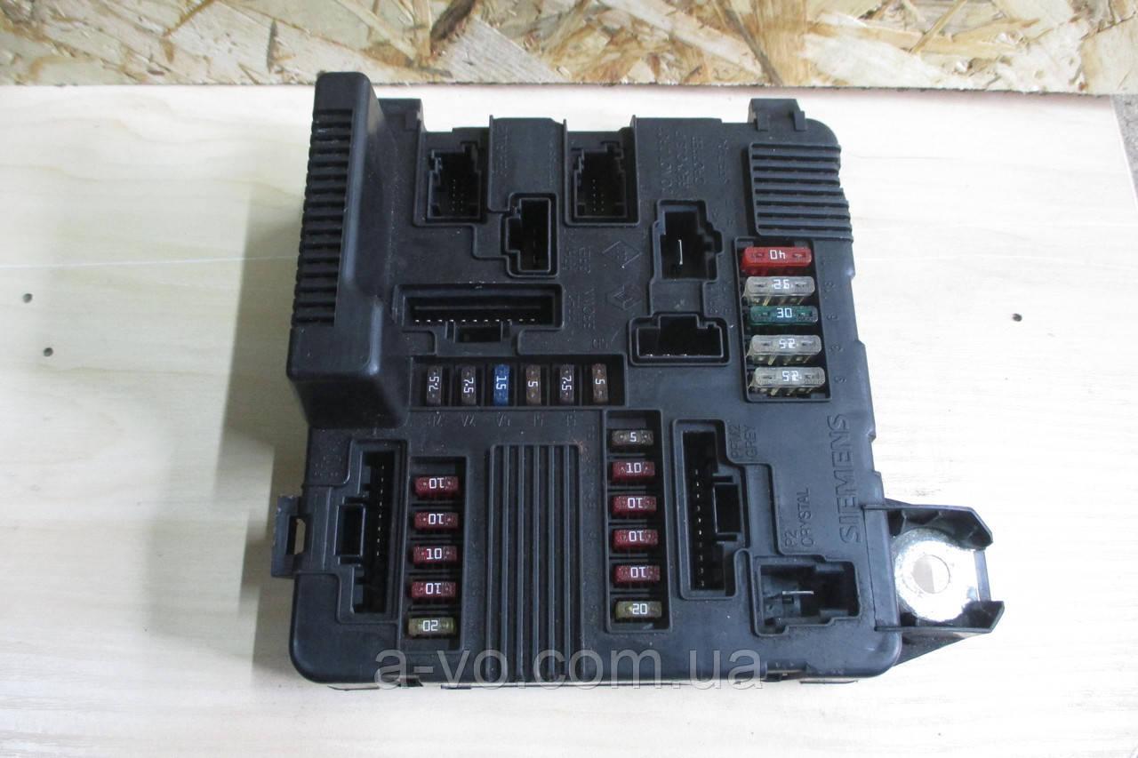 Блок запобіжників модуль UPS BSI для Renault Megane 2 Scenic 2, 8200306033A